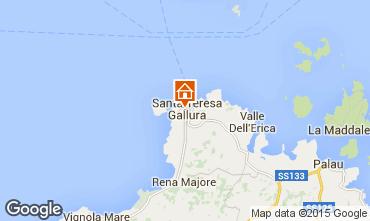 Map Santa Teresa di Gallura House 71328