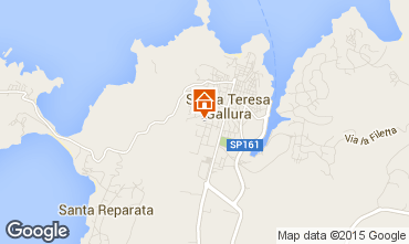 Map Santa Teresa di Gallura House 71328