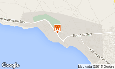 Map Saly Villa 79199