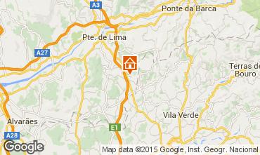 Map Ponte de Lima House 70923
