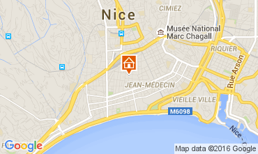Map Nice Apartment 104209