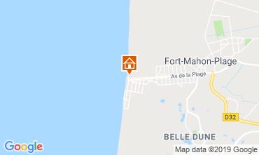Map Fort Mahon Apartment 67417