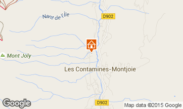 Map Les Contamines Montjoie Chalet 956