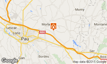 Map Pau Villa 98885