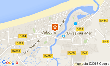 Map Cabourg House 54311