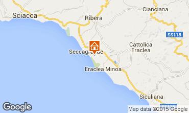 Map Ribera Apartment 22786