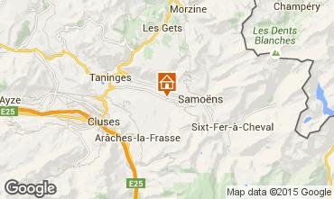 Map Morillon Grand Massif Apartment 29272