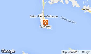 Map Quiberon Apartment 81600