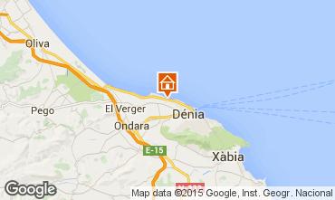 Map Denia Bungalow 75949
