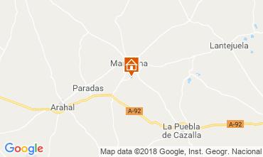 Map Seville Villa 117336