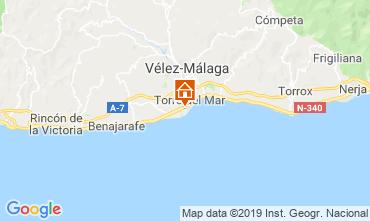 Map Torre del Mar Apartment 119916