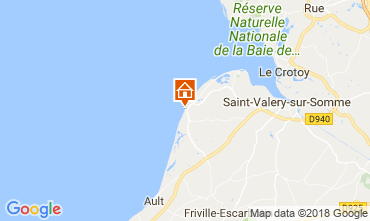 Map Cayeux-sur-Mer Apartment 115439