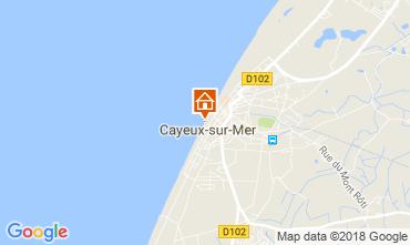 Map Cayeux-sur-Mer Apartment 115439