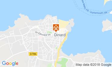Map Dinard Apartment 117540