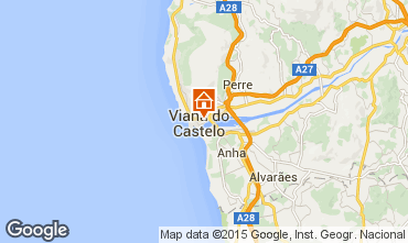 Map Viana Do castello Apartment 73043