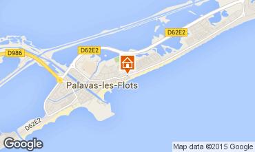 Map Palavas-les-Flots Flat 83188