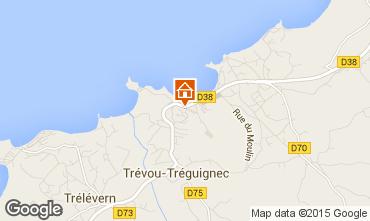 Map Perros-Guirec Flat 94927