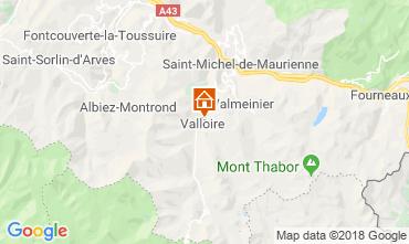 Map Valloire Apartment 116877