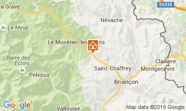 Map Serre Chevalier Apartment 2921