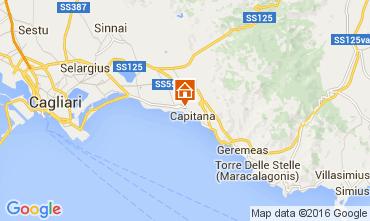Map Quartu Sant'Elena Villa 106179