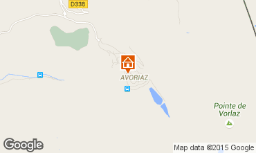 Map Avoriaz Apartment 427