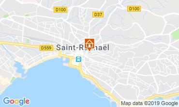 Map Saint Raphael Apartment 28963