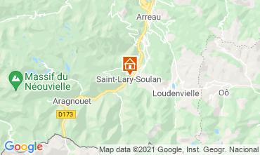 Map Saint Lary Soulan Apartment 110668