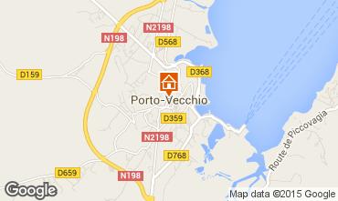 Map Porto Vecchio Apartment 78206