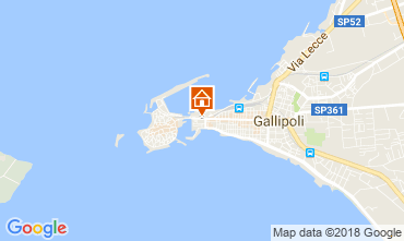 Map Gallipoli Apartment 114927
