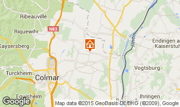 Map Colmar Self-catering property 13081