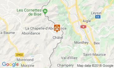 Map Châtel Chalet 117459