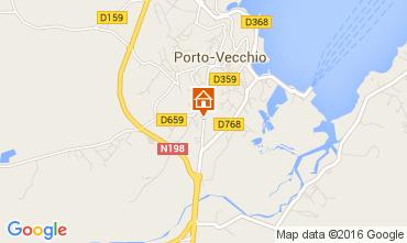 Map Porto Vecchio Apartment 104304