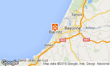Map Biarritz Flat 55417