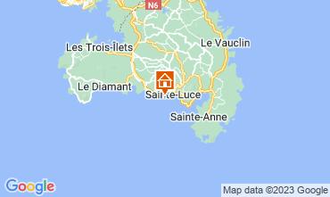 Map Sainte Luce Studio apartment 26400