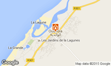 Map Oualidia Villa 72568