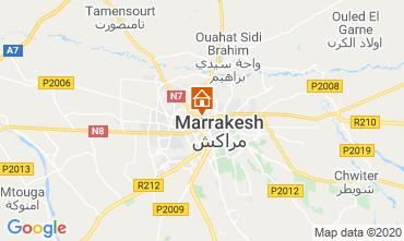 Map Marrakech Apartment 70324