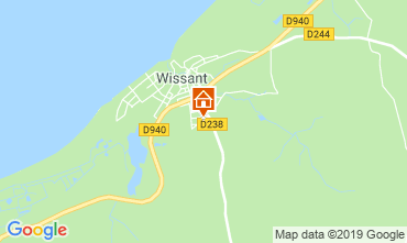 Map Wissant House 103982