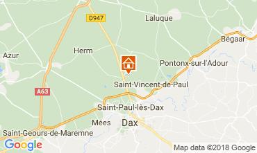 Map Saint Paul les Dax House 114907