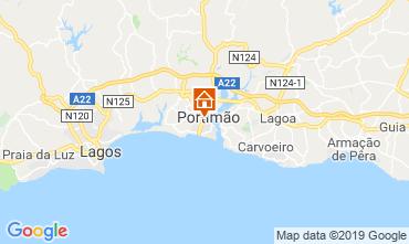 Map Portimão Apartment 119135