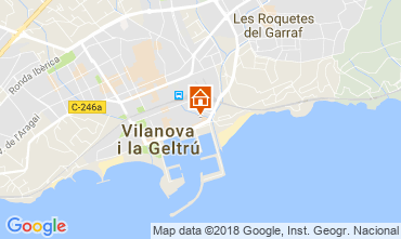 Map Barcelona Apartment 114911
