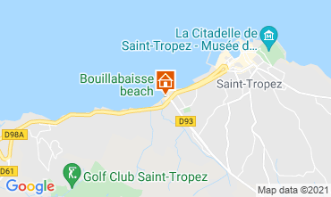 Map Saint Tropez Villa 118899