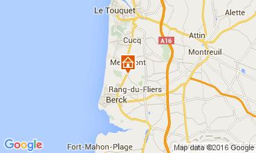 Map Le Touquet House 105490
