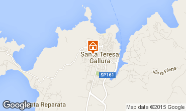 Map Santa Teresa di Gallura Apartment 67733