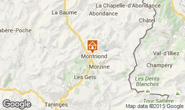 Map Morzine Flat 80365