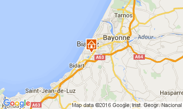 Map Biarritz Flat 89087