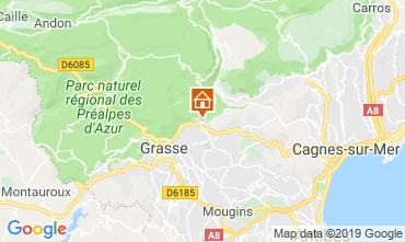 Map Grasse Villa 118680