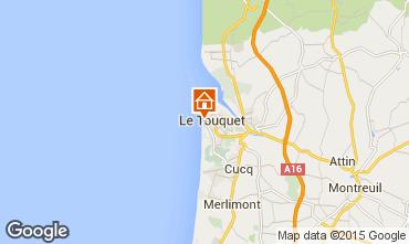 Map Le Touquet Apartment 30752