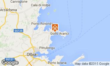 Map Aranci Gulf Apartment 78489