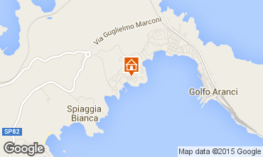 Map Aranci Gulf Apartment 78489
