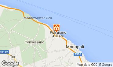 Map Polignano a Mare Studio apartment 36262